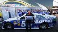 Mark Martin may not be the oldest driver to win a pole in the NASCAR Sprint Cup Series - yet - but with his top qualifying effort Friday at Phoenix International Raceway, the seemingly ageless driver remained the second oldest driver to win a pole.