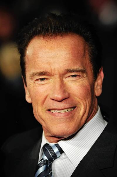Arnold Schwarzenegger said he was excited to revive his former magazine gig.