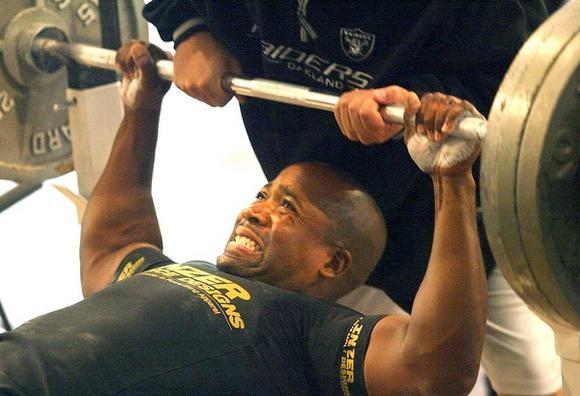 <b>REP:</b> Maximum bench press weight is a virtually irrelevant number, but one that can mean so much to men.