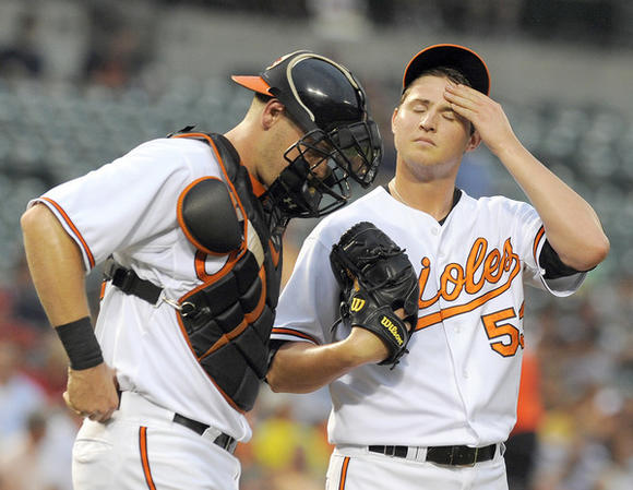 Zach Britton, Matt Wieters