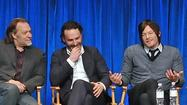 "As the main characters of ""The Walking Dead"" question whether Rick Grimes is fit to be in charge in his unstable state, the cast of the AMC ratings force finds itself under new leadership for the third time in its going-on-four-year run. And they want fans to know: It will be OK."