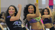 Baltimore Ravens cheerleader tryouts