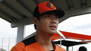 Wei-Yin Chen throws well in spring debut