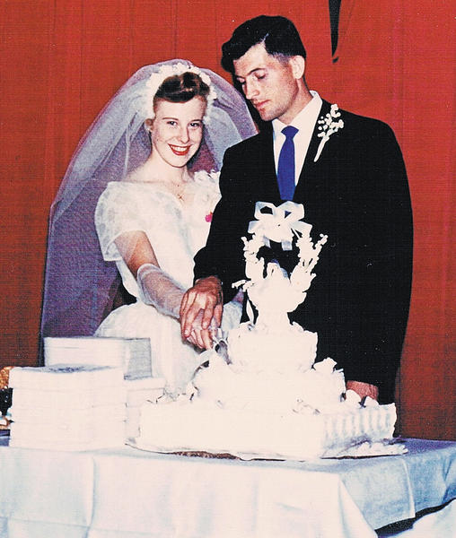 Bob and Ann Terrett were married July 6, 1957, in Silver Spring, Md.