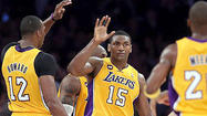 Metta World Peace didn't want to talk. No way. No comment.