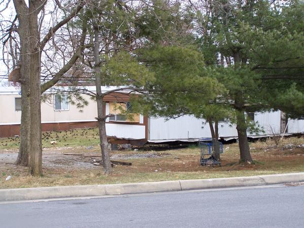 on Friday. The owner of this Mall Drive mobile home park in Martinsburg was ordered by Berkeley County officials to remove a condemned trailer and excessive trash, vegetation and address other building and property code concerns within the next 30 or 60 days.