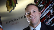 No matter how hard Blackhawks general manager Stan Bowman tried insulating himself from the raised expectations around town during the best start in NHL history, escaping them around the house proved even harder.