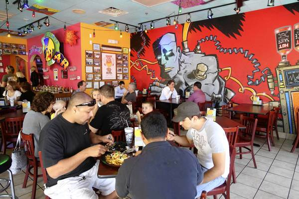 Tijuana Flats in Orlando's College Park neighborhood is an example of the 'fast casual' dining trend.