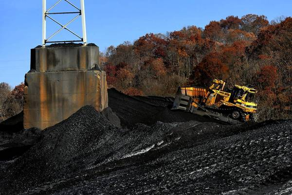 A coal-burning power plant in Beverly, Ohio, eventually might have to close if it can't meet clean-air standards. More companies are turning to cleaner and increasingly cheaper natural gas instead of coal.