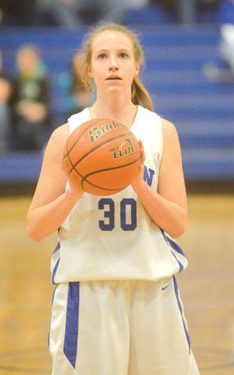 Aleesa Fieg scored 16 points to help Berlin win the D5 Class A consolation basketball game Saturday.