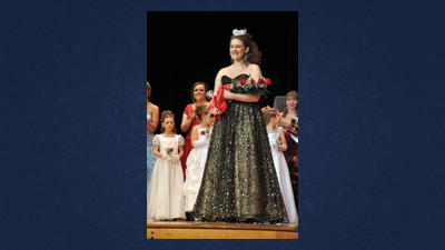 The new Maple Queen, Ranita Bowers-Thomas, was crowned by last year's winner, Hannah Taylor of Boswell, on Saturday night at the 66th annual Maple Queen Pageant held at Meyersdale Area High School. Bowers-Thomas lives in Berlin with her mother and father, David and Terra Thomas. She is a senior at Berlin Brothersvalley High School.