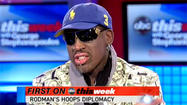 Watch Dennis Rodman try to broker peace with North Korea [Video]