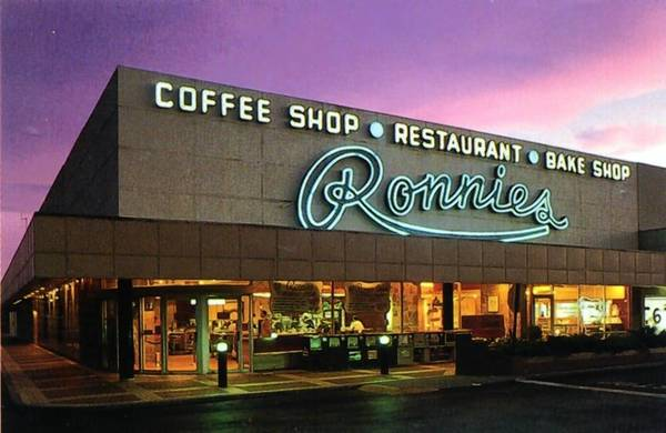 In readers' letters to Flashback, Ronnie's on East Colonial Drive holds the unofficial title of most-mentioned spot in Orlando's past. The restaurant and bakery in the original Colonial Plaza shopping center opened in 1956 and closed in February 1995.