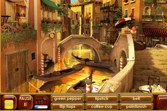 "Screen capture from ""Hide It! Head to Head Hidden Object Game"""