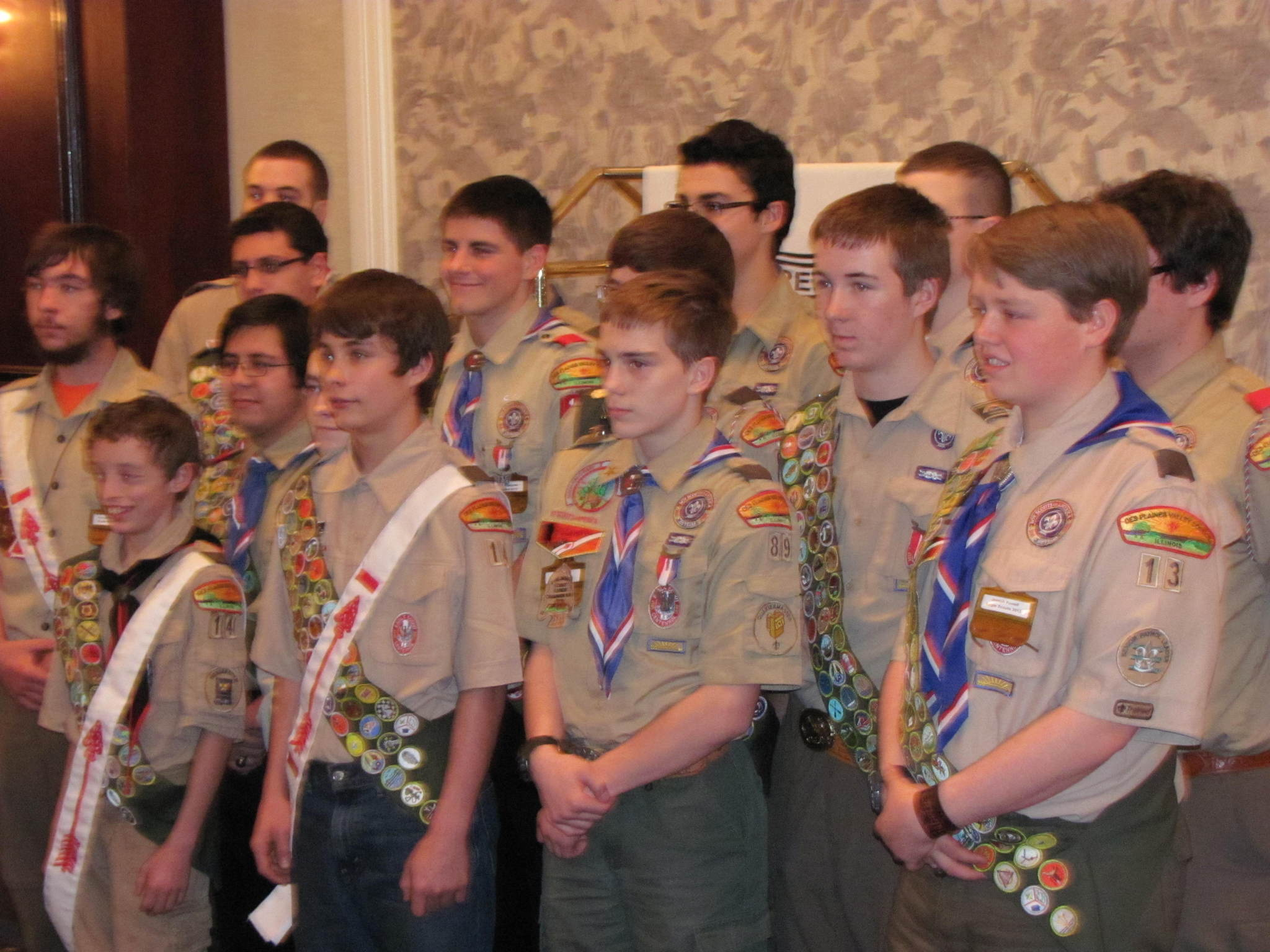 Matt The Scout Boy Credits Version 2: Boy Scouts Celebrate Historic Number Of Eagle Scouts For