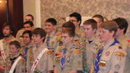 Setting a new record for the Boy Scouts of America, Des Plaines Valley Council, 155 Scouts were recently recognized at ceremonies for attaining Eagle Scout, the highest rank a youth in the program can aspire to.  The Scouts attained this rank during 2012, the 100th Anniversary of the Eagle Scout rank, adding to the great significance of the achievement this year for those in Scouting.