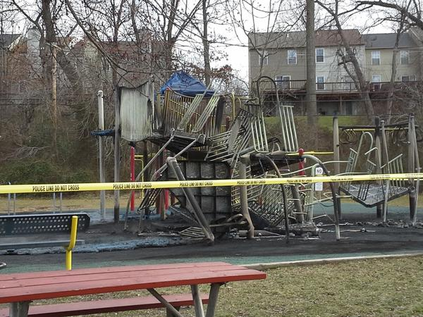Fire damage at Discovery Community Park was estimated around $100,000.