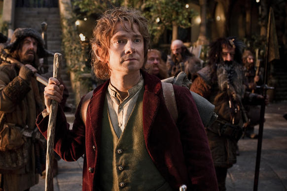 """The Hobbit: An Unexpected Journey"" joins its franchise kin ""The Lord of the Rings: The Return of the King"" in the $1-billion movie club, <a href=""http://www.latimes.com/entertainment/envelope/cotown/la-et-ct-hobbit-billion-box-office-20130303,1,6006899.story"">inching over the limit in its 11th week of release.</a>