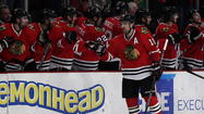 Patrick Sharp and teammates