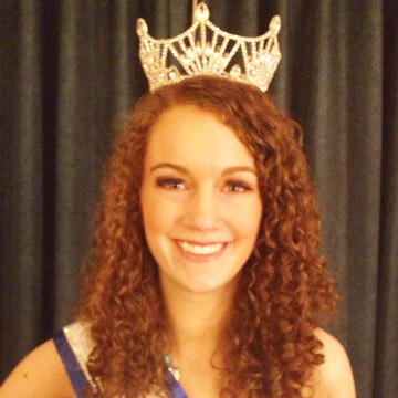 Jane Mehlhaff of Aberdeen was crowned Miss South Dakota Collegiate in Rapid City on Jan. 26. Mehlhaff will go on to represent South Dakota at the national pageant at Disney World in Orlando, Fla., in July. In addition to a college scholarship and other prizes, Mehlhaff will have the opportunity to make appearances and continue her volunteer work around the state. Mehlhaff, the former Junior Miss Aberdeen, is the daughter of Pete and Paddy Mehlhaff.