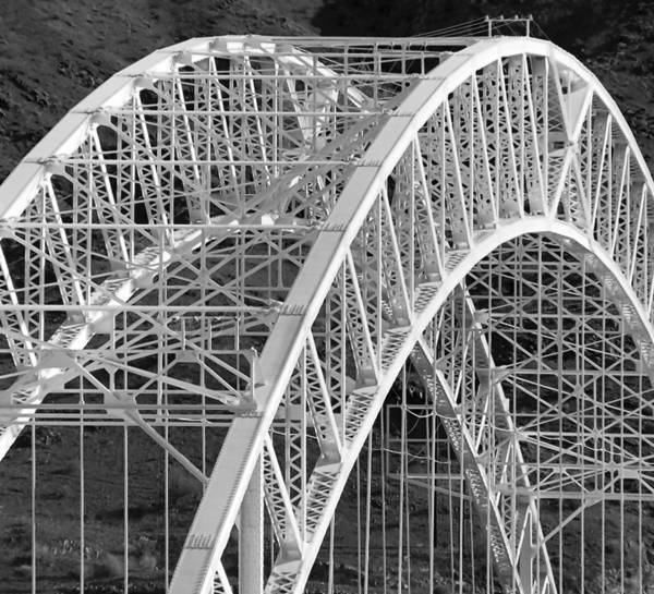 "A Route 66 bridge over the Colorado River in Arizona is one of Many David Plowden photographs featured in ""Bridges: The Spans of North America, at The Grohmann Museum at the Milwaukee School of Engineering."