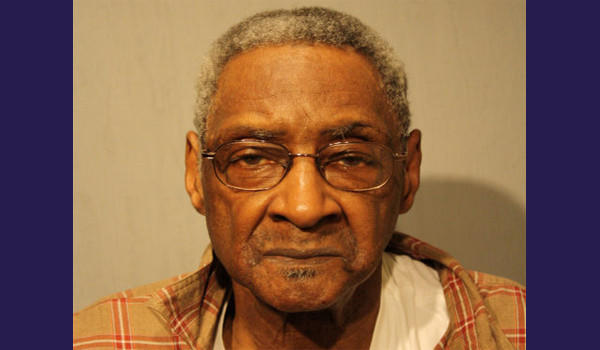 Walter Wilson, 80, is charged with harassing a witness he's accused of shooting in 2011--more than 20 years after he was convicted of shooting her in 1989.