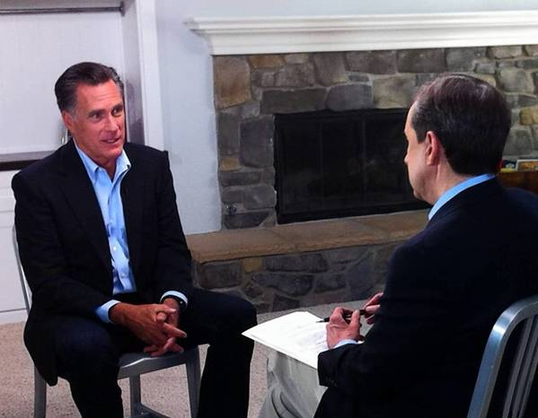 """""""It kills me not to be there, not to be in the White House doing what needs to be done,"""" Mitt Romney told host Chris Wallace on """"Fox News Sunday."""""""