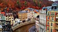 KARLOVY VARY, Czech Republic — We had been collecting frequent-flier points for years. My husband, Keith, and I thought that, yes, of course, we would use them. We would fly around the world. Business class. Maybe next year.