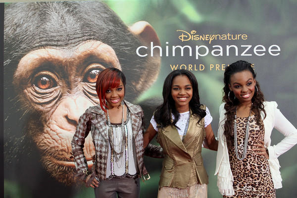 "The McClain Sisters (sing the movie's song ""RISE"" and <a class=""taxInlineTagLink"" id=""PECLB0000005917"" title=""China Anne McClain"" href=""/topic/entertainment/china-anne-mcclain-PECLB0000005917.topic"">China Anne McClain</a> from Disney's A.N. T Farm) -- Red carpet premiere of the Disney Nature film, Chimpanzee, at <a class=""taxInlineTagLink"" id=""PLENT000166"" title=""Downtown Disney"" href=""/topic/services-shopping/downtown-disney-PLENT000166.topic"">Downtown Disney</a> in Orlando Florida, on Friday, April 13, 2012."