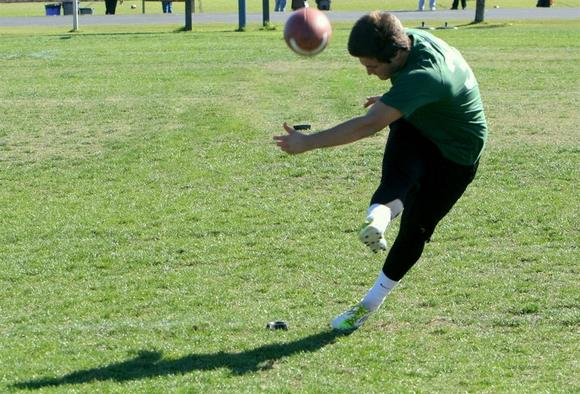 Austin Jones, kicker, Orlando Boone High, photo