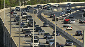 Monday traffic: Emergency road work closes lanes on I-695