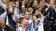 No. 2: Galaxy wins the MLS Cup