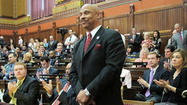 "What do you think about state Rep. Hewett's ""snake"" remark? Should he resign?"