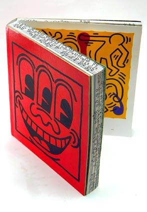 """Keith Haring,"" an amazing monograph by the pop artist and activist, contains previously unpublished photos, drawings and journal entries. $100. From Rizzoli or www.pop-shop.com."