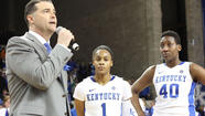 LEXINGTON, Ky. (AP) - Only after A'dia Mathies beat No. 8 Tennessee did the Kentucky senior guard show some sentimentality over playing her final home game with the Wildcats.