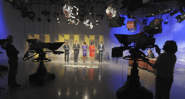 Pictures: Baltimore City Mayoral candidates debate - Televised debate