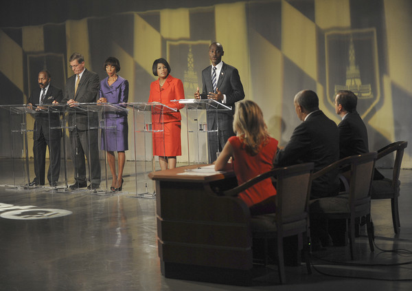 Pictures: Baltimore City Mayoral candidates debate - Participants