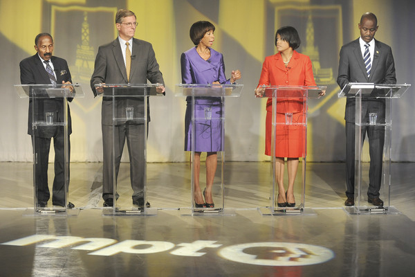 Pictures: Baltimore City Mayoral candidates debate - Candidates