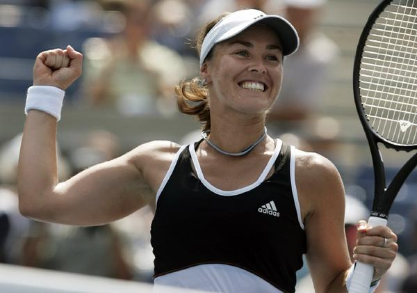 In her playing days, Martina Hingis won 15 titles in major tournaments.