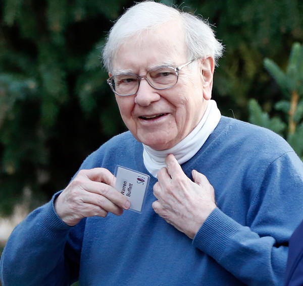 American business magnate, investor, and philanthropist Warren Buffett is worth more than $53.5 billion.