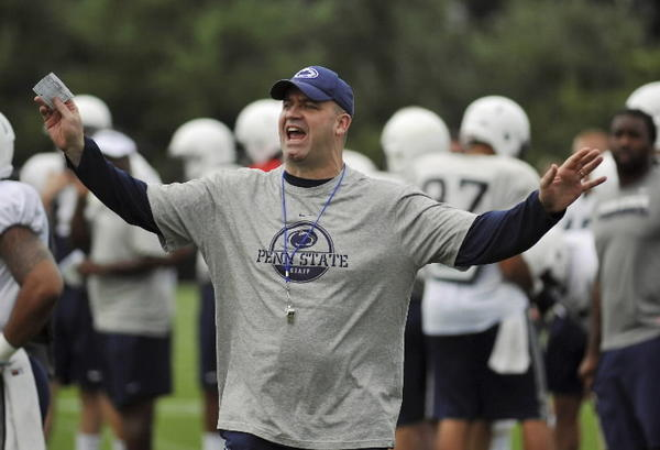 Penn State coach Bill O'Brien talks about his friendship with his mentor and former boss, UCF coach George O'Leary during a stop in Orlando Saturday.