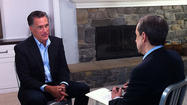 Back in the spotlight, Romney criticizes Obama (a.k.a. 'Nero')