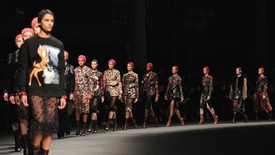 Paris Fashion Week fall 2013: Givenchy review