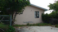 Vacant house, Southeast 2nd Avenue, Delray Beach