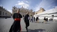 VATICAN CITY -- Roman Catholic cardinals opened talks Monday at the Vatican on choosing a successor to Pope Benedict XVI but made no headway on deciding when they will shut themselves into the Sistine Chapel to start voting for the new pontiff.