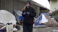 VIDEO Homeless camp to be razed