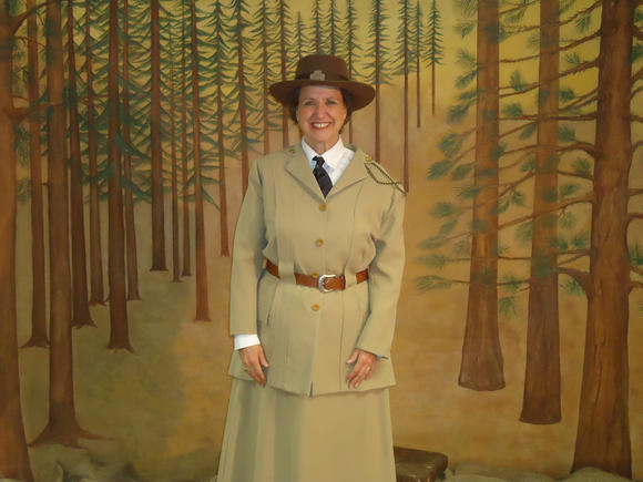 Juliette Gordon Low comes to life during the March 10 History Speaks presentation at Naper Settlement