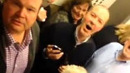 Cast members of 'Modern Family' trapped in elevator