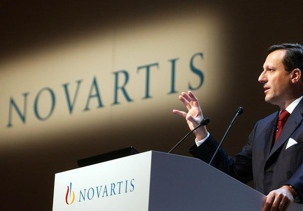 Novartis CEO and Chairman Daniel Vasella