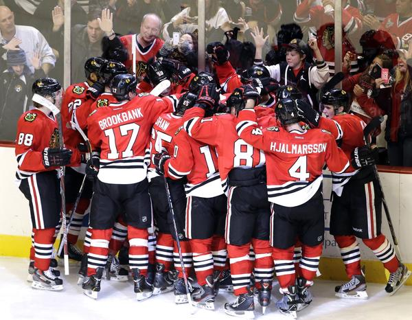 With a 19-0-3 start after the NHL lockout, the Chicago Blackhawks are giving their fans a season to remember.